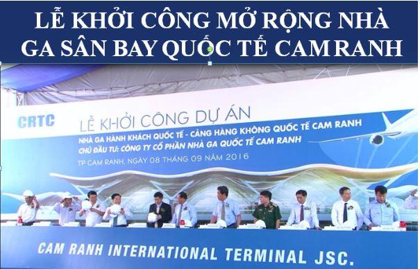khoi cong san bay quoc te cam ranh