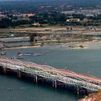 xây cầu long hồ