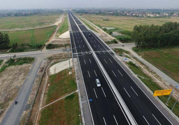 đường cao tốc đoạn Nha Trang - Cam Lâm