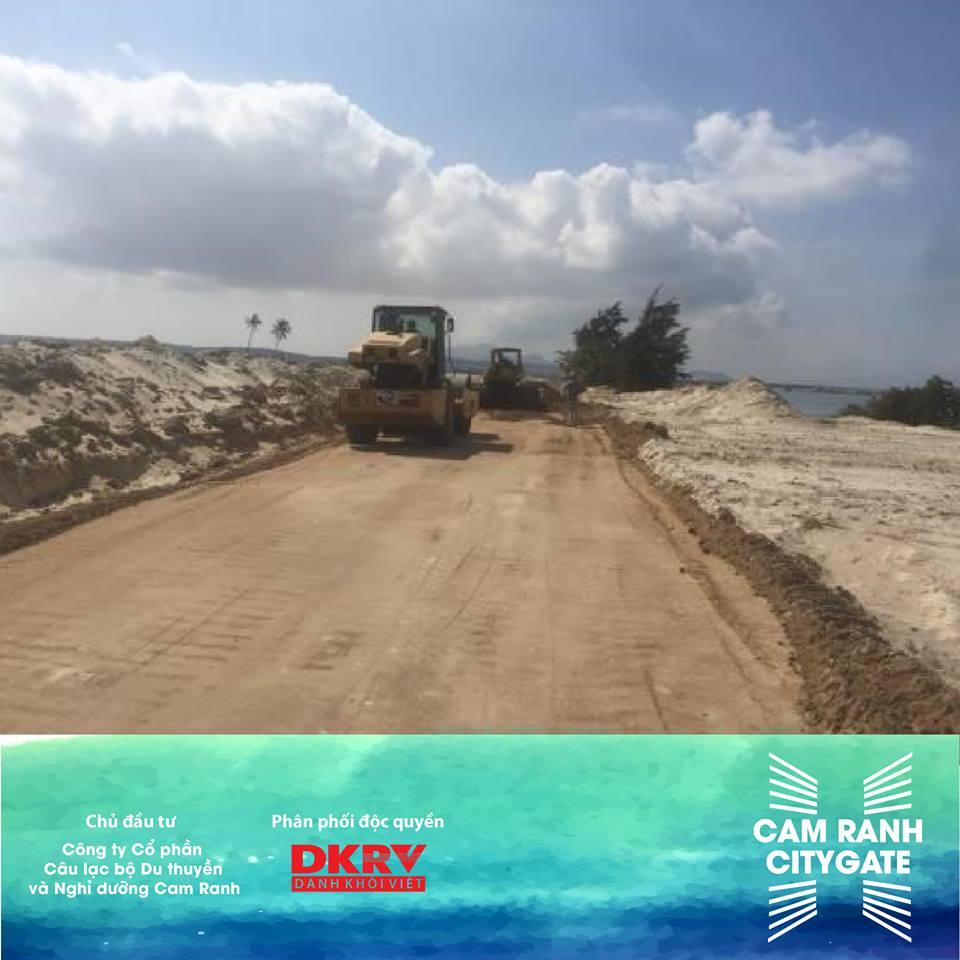 Tiến độ dự án Cam Ranh City Gate ngày 2/5/2018