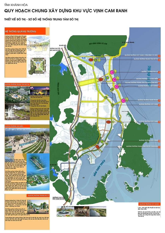 bản đồ quy hoạch xây dựng vịnh cam ranh