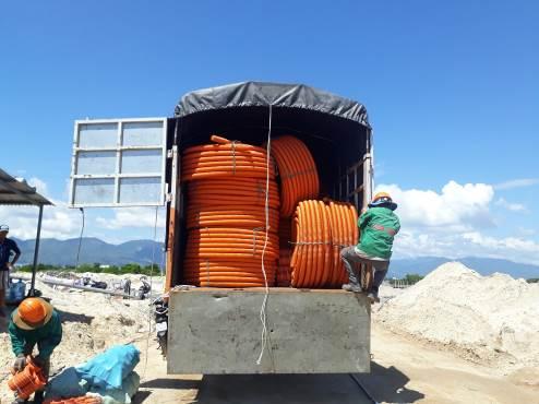 thi công cơ điện tại Cam Ranh City Gate