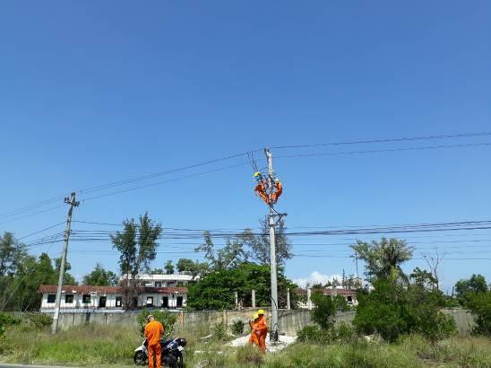 Kéo điện về dự án