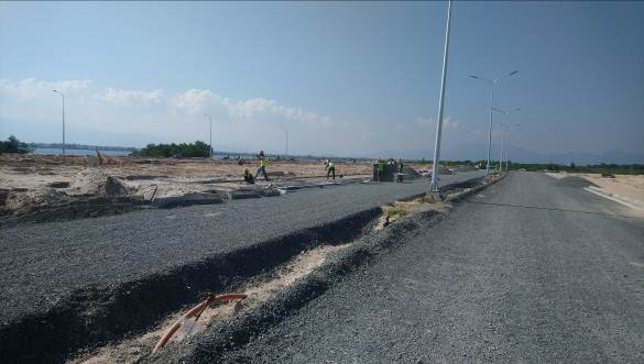 Hình ảnh tuyến đường 20m tại dự án