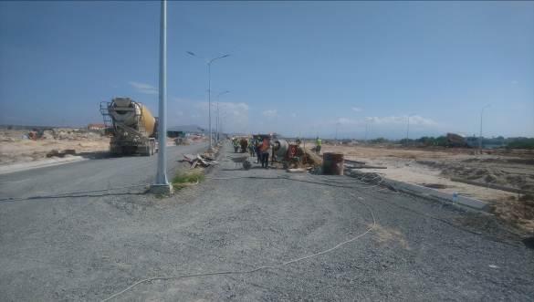 tiến độ xây dựng cam ranh city gate tháng 10
