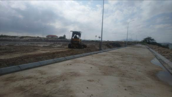 tiến độ xây dựng cam ranh city gate tháng 10 2018
