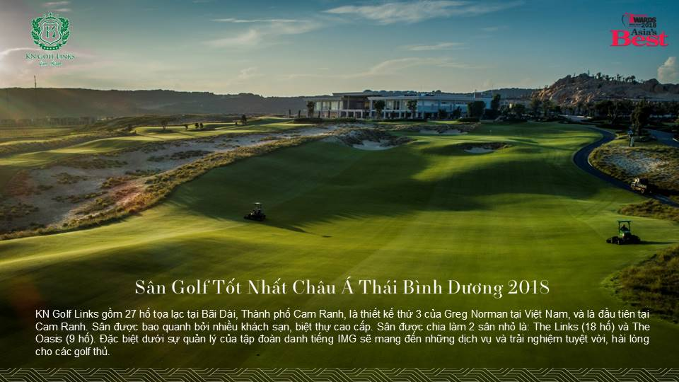 kn golf links 27 lỗ