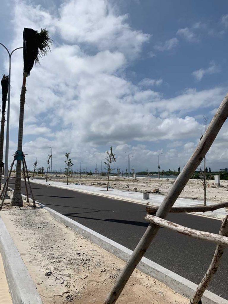 tiến độ cam ranh city gate tháng 2 năm 2019