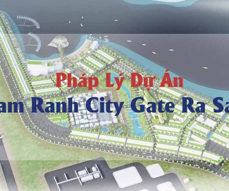 pháp lý dự án cam ranh city gate