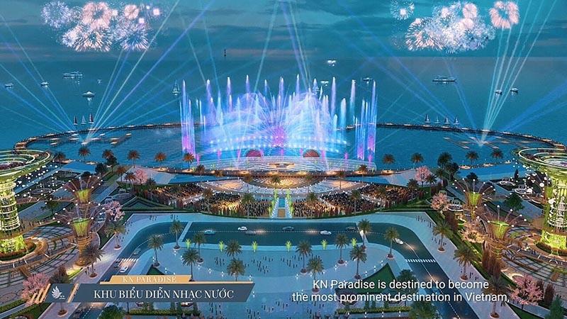 khu biểu diễn nhạc nước kn paradise