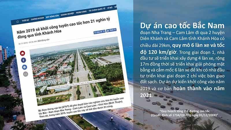 thị trường bất động sản cam lâm phát triển từ cơ sở hạ tầng