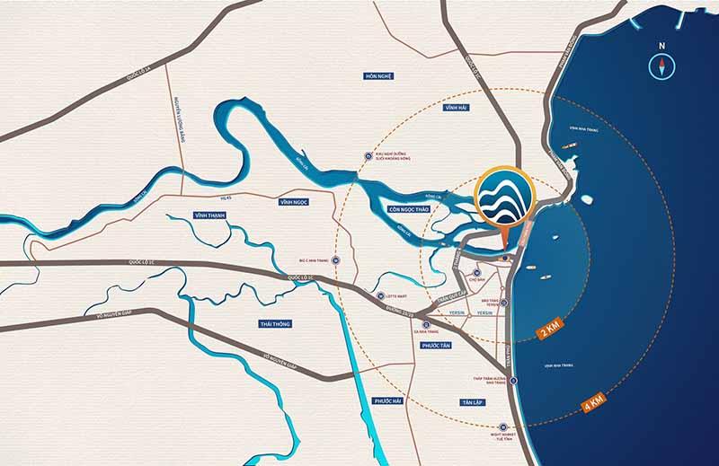 Sơ đồ map The Aston Nha Trang