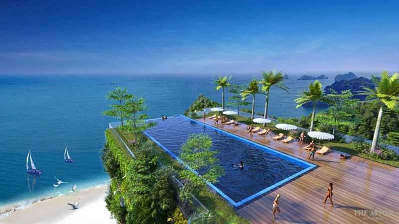 Hồ bơi Sky View tại dự án