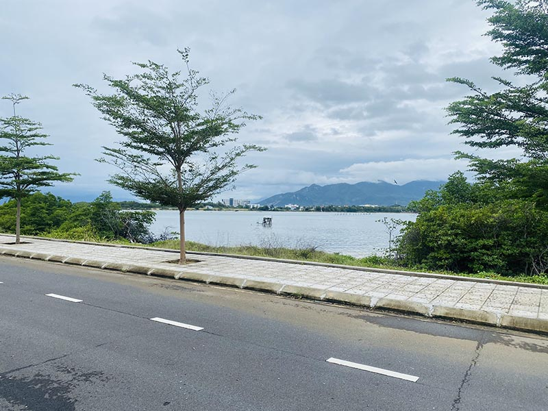 View đầm Thủy Triều Crcg Tháng 1 Năm 2021